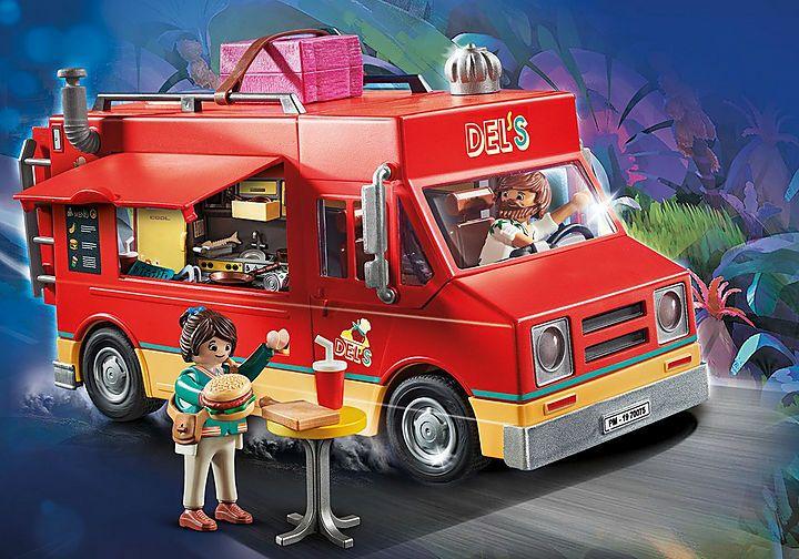PLAYMOBIL: THE MOVIE Food Truck Del en outlet Carrefour de C.C Atalayas en Murcia