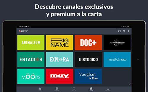 1 semana gratis de TVPlayer Premium (canales TV de pago)