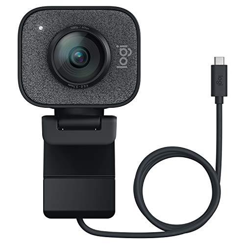 Logitech StreamCam, Cámara Web con USB-C, Full HD 1080p a 60 fps (Reacondicionada Como Nueva)