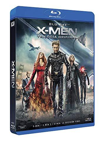 Trilogía X-men - 3 películas en Blu-ray (sale a 4,2€ cada una)