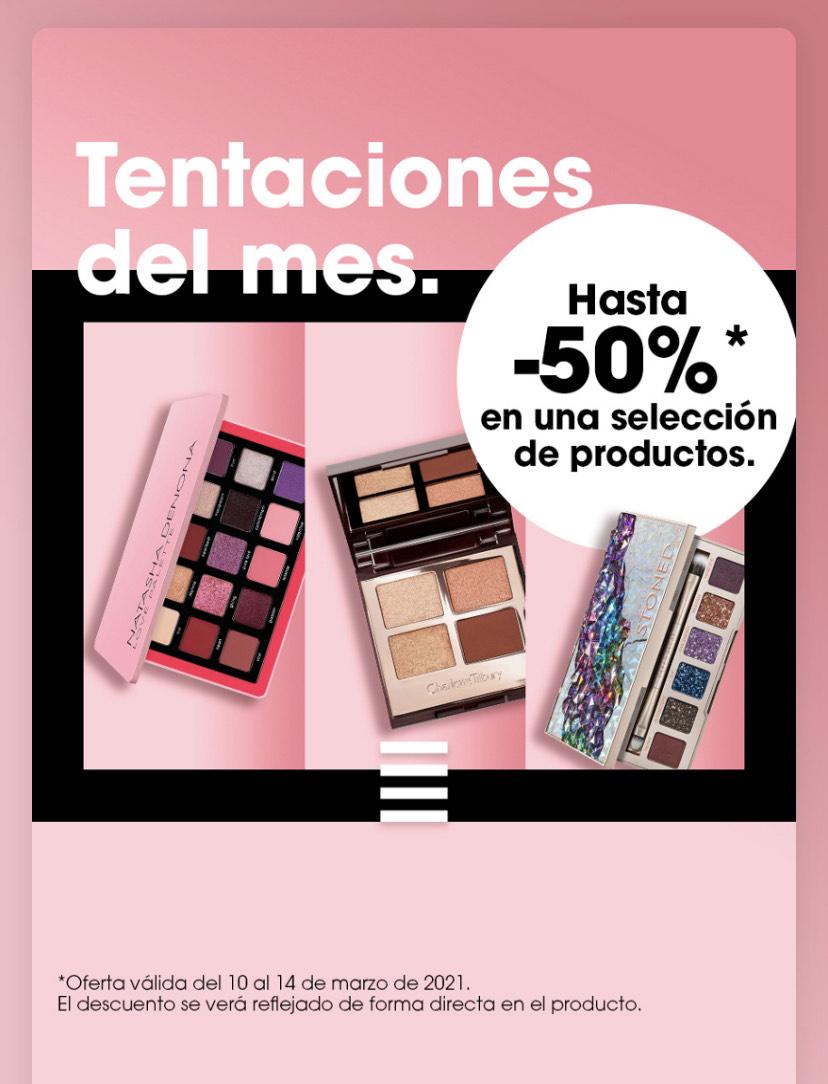 """Hasta -50% en las """"tentaciones del mes"""" de Sephora"""