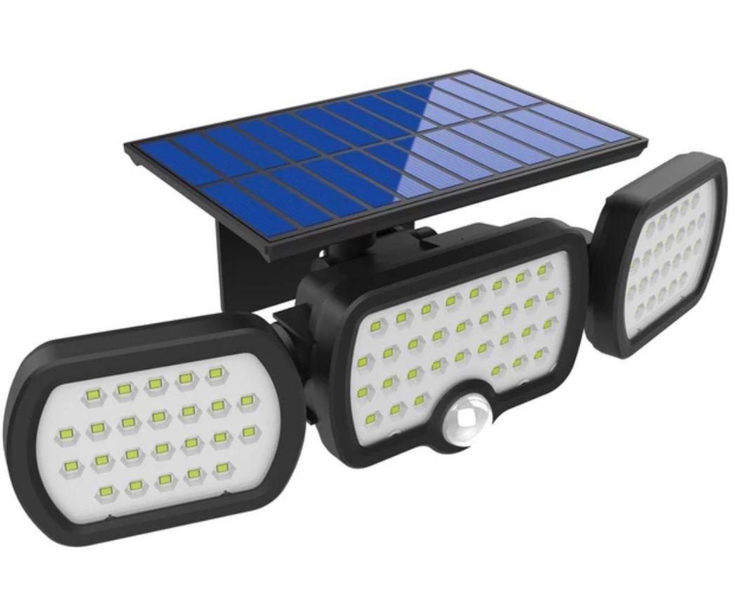 Lámpara Solar LED IP65 1200LM
