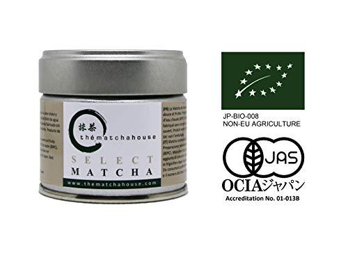 Select Matcha Eco 30 g - Té verde japonés, the matcha house