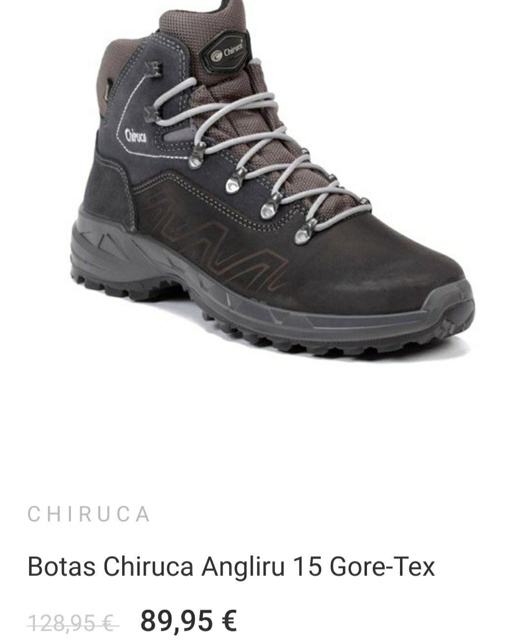 Botas Chiruca Angliru (pocas tallas y colores)
