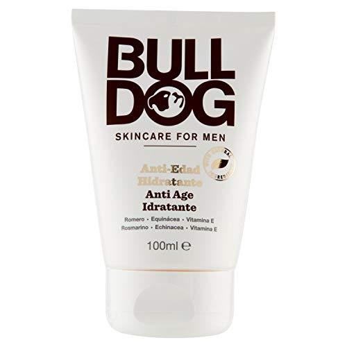 Bulldog, Crema Hidratante Antiedad para Hombre, 100 ml