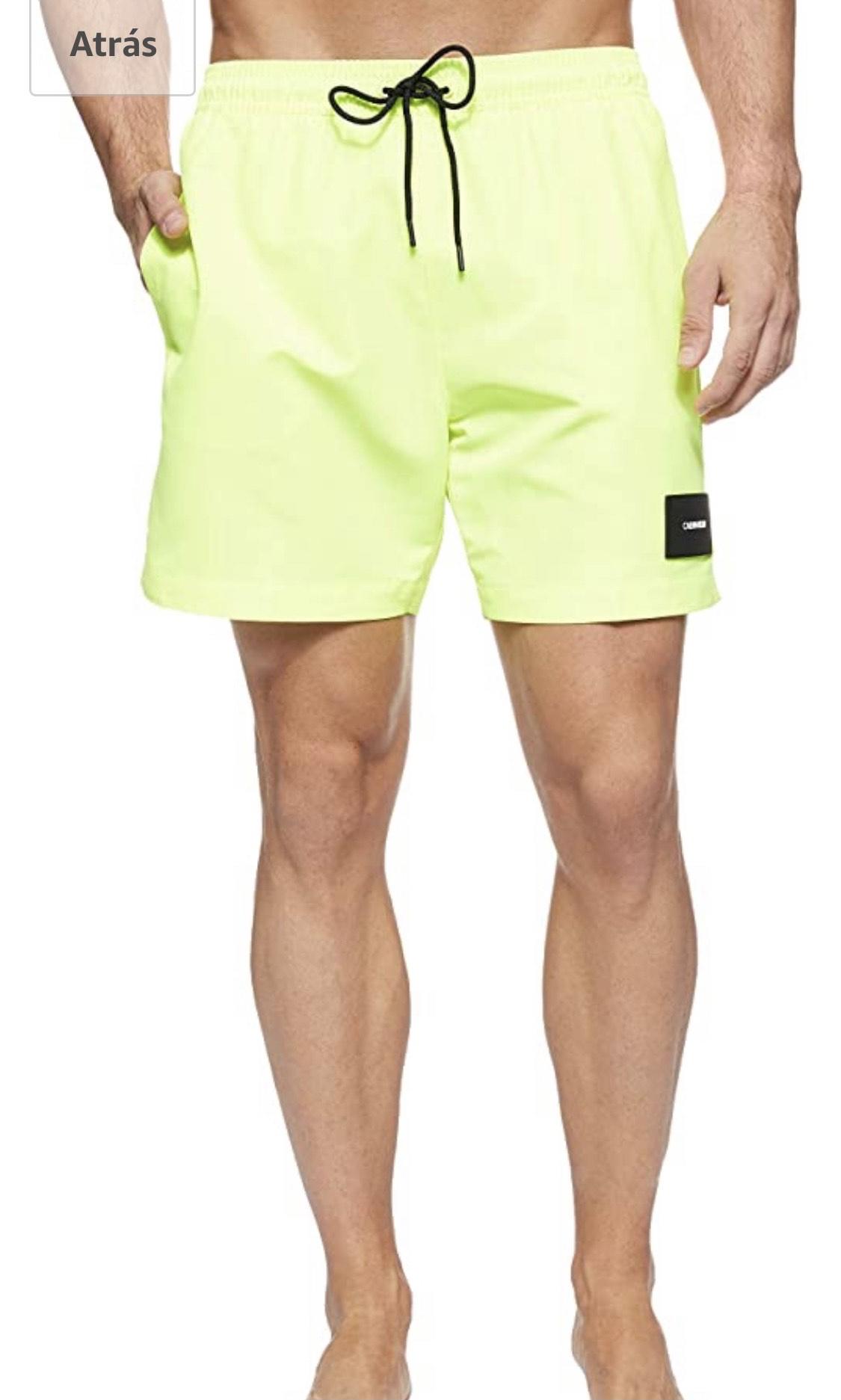 Bañador CK Talla M Color : Amarillo (Safety Yellow Zaa)
