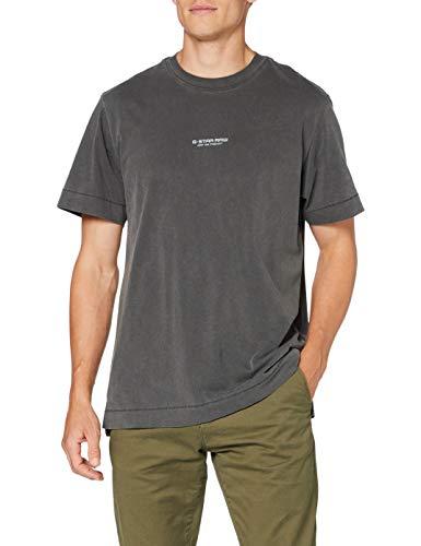 G-STAR RAW Reflective Logo Loose Camiseta para Hombre, talla XL