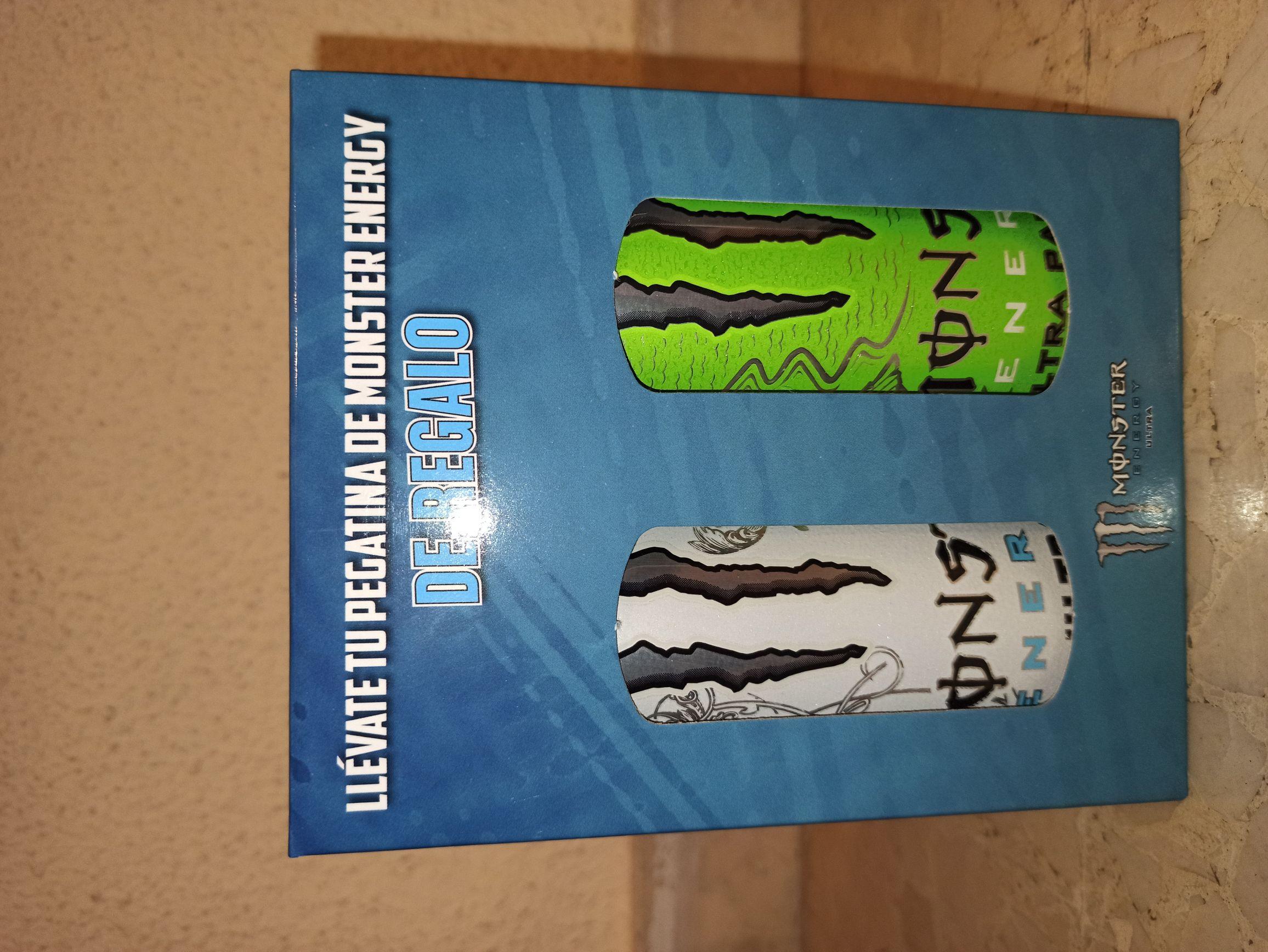 B.Energética Monster 2 unidades + pegatina