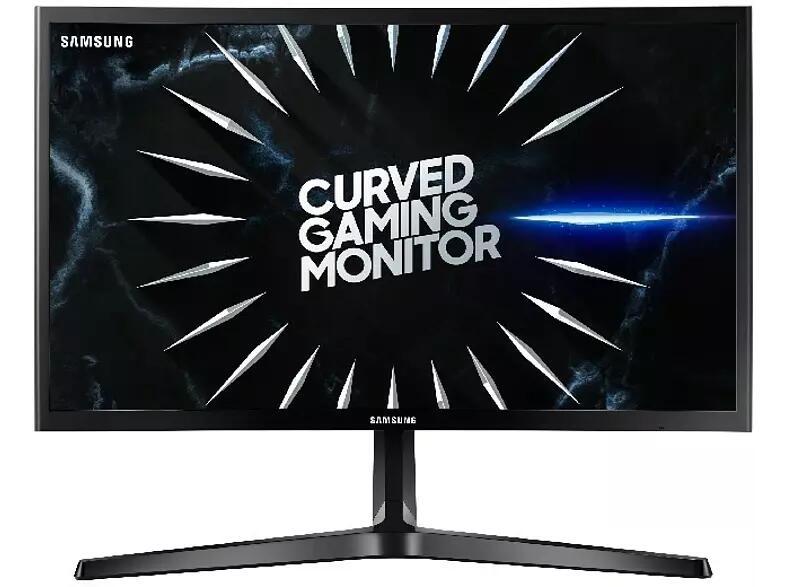 Monitor - Samsung LC24RG50 24'', Curvo, Full HD, 4 ms, 144 Hz VA, Negro