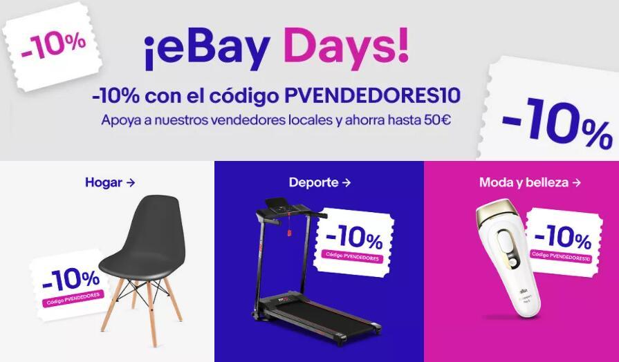 10% de descuento EXTRA en selección Ebay