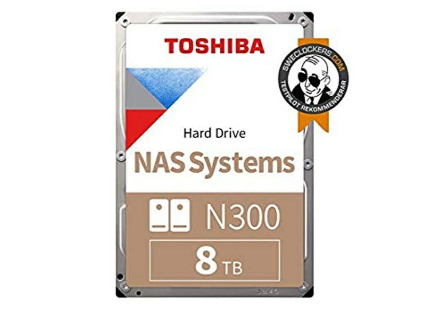 Toshiba N300 - Disco duro interno de 8 TB (SATA 6 GB/s, 7200rpm) color gris (Envio incluido)