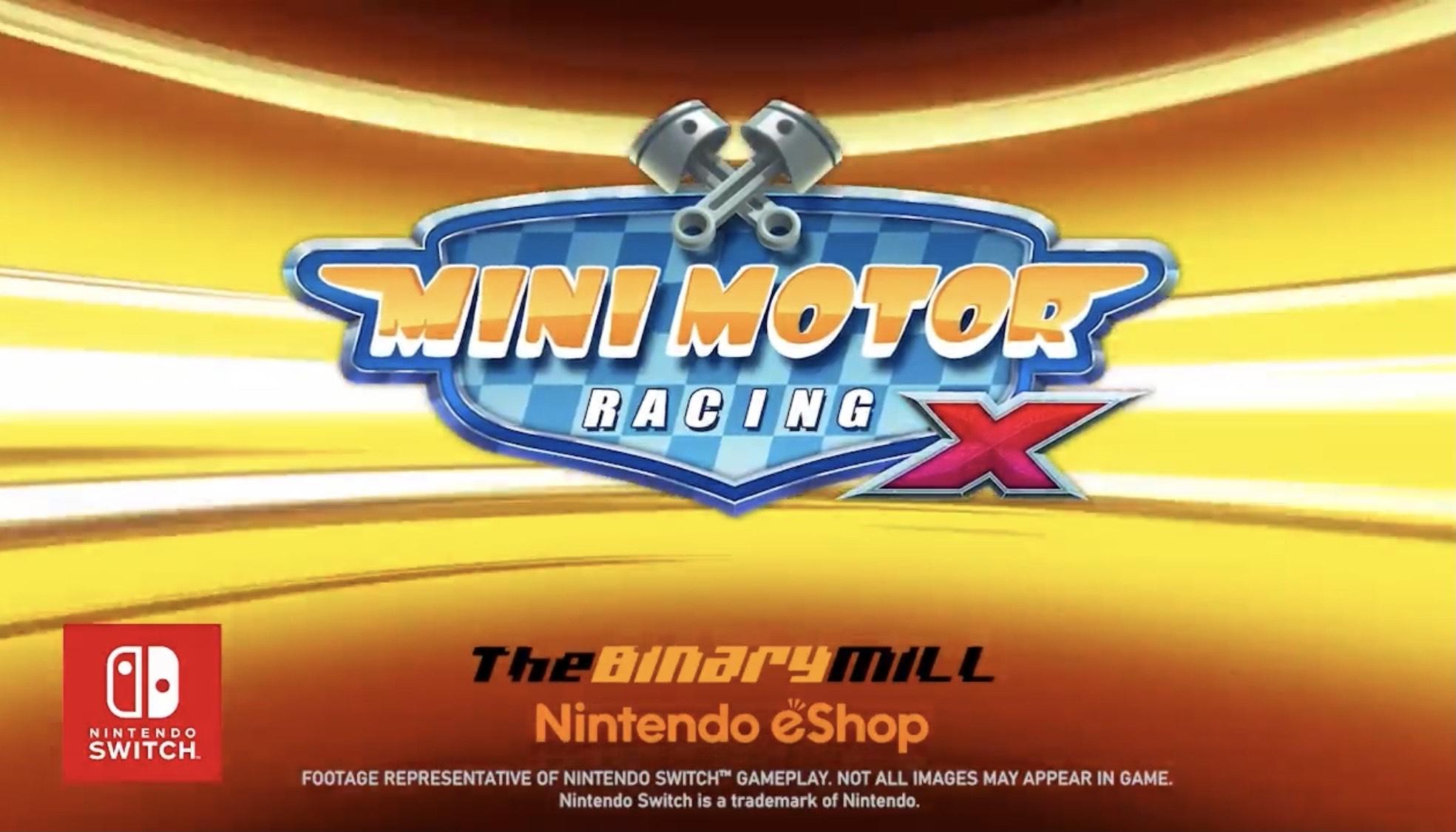 Mini Motor Racing X para Switch (eShop N. Zelanda)