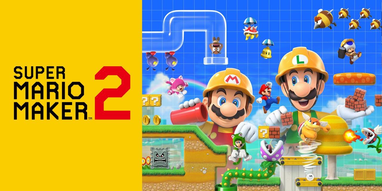 Super Mario Maker 2 a 39€ en la nintendo eshop