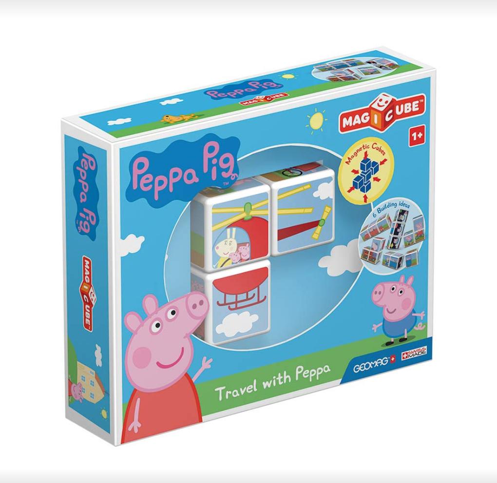 Juego de construcción magnético Peppa Pig