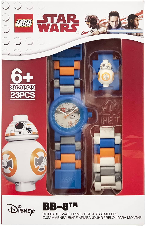 Reloj Lego Star Wars con figura de BB-8 y piezas intercambiables