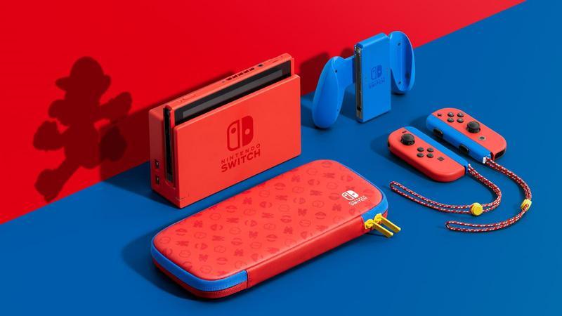 Nintendo Switch Edición Mario + Animal Crossing New Horizons