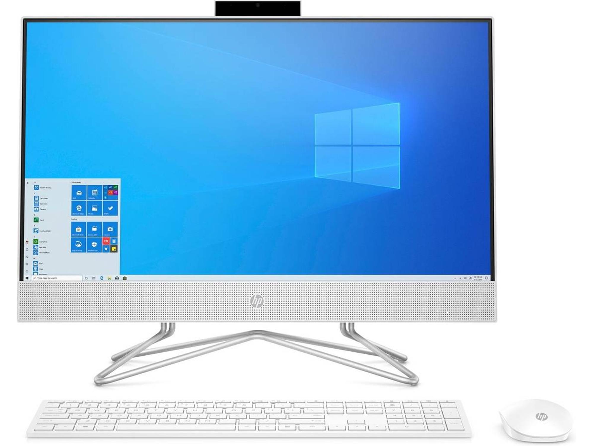 All in One HP 24-df0002ns (23.8'' - Intel Core i5-10400T - RAM: 8 GB - 512 GB SSD PCIe - Intel UHD Graphics)