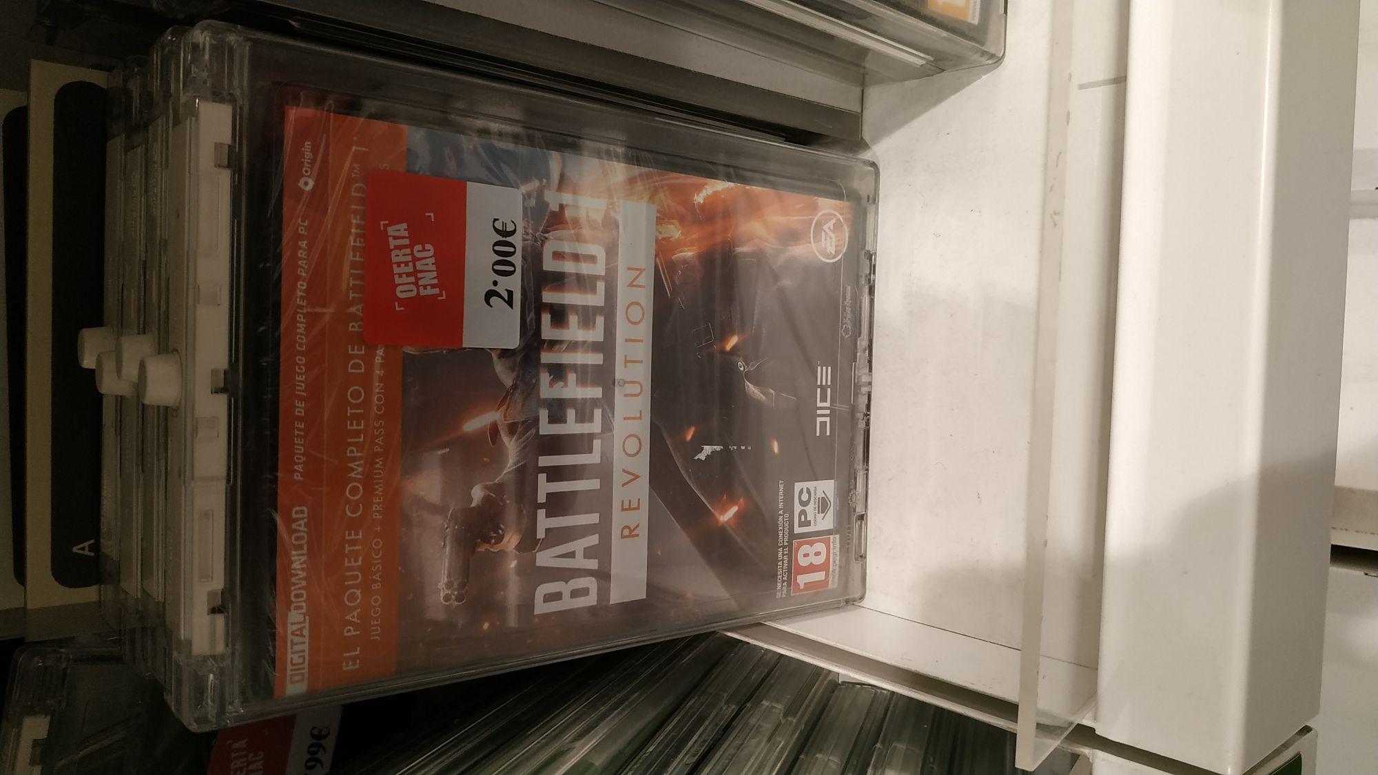 Battlefield 1 Revolution por 2 euros en FNAC La Maquinista