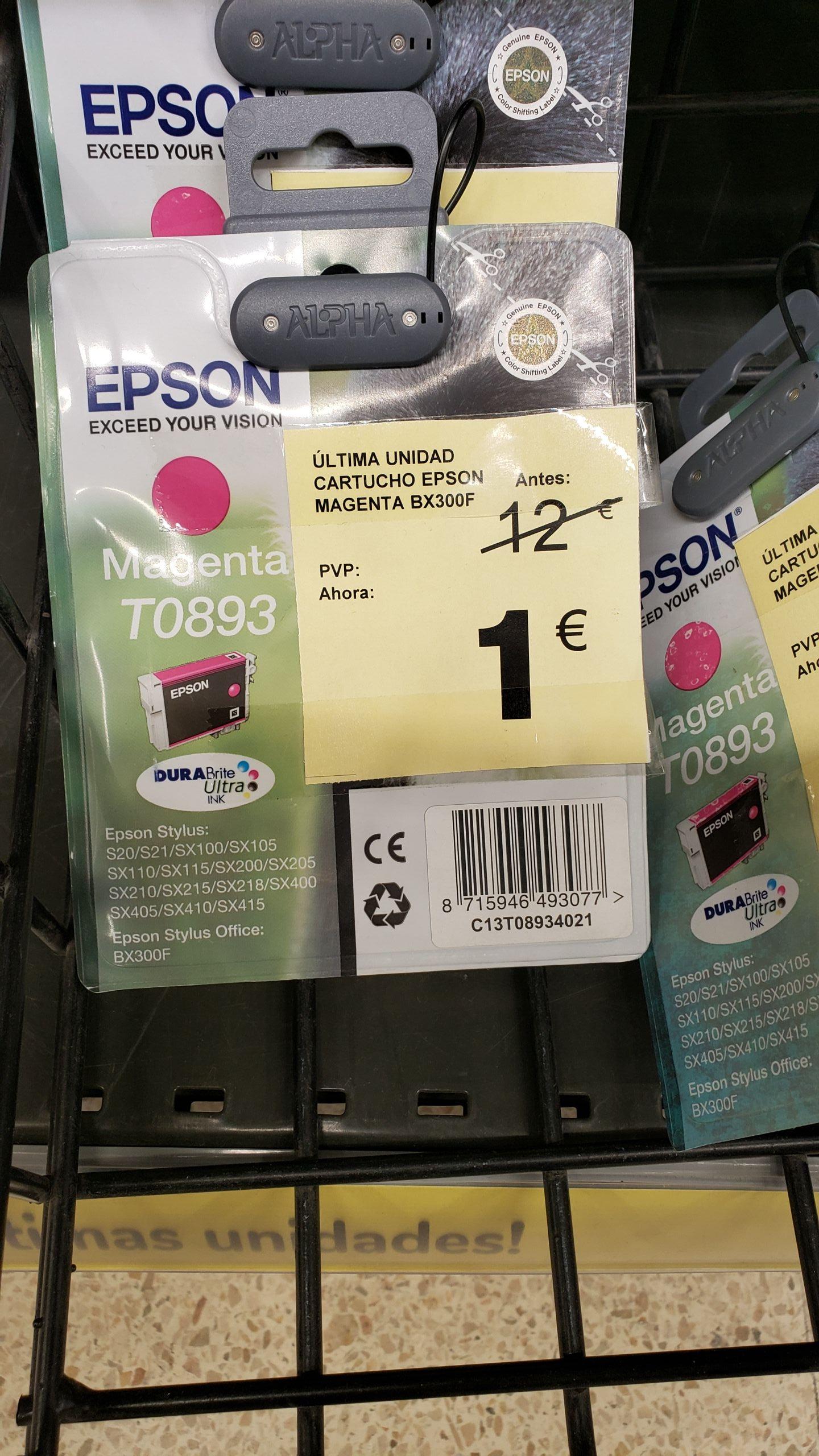 Cartucho Epson Magenta BX300F en Carrefour C.C Añaza tenerife