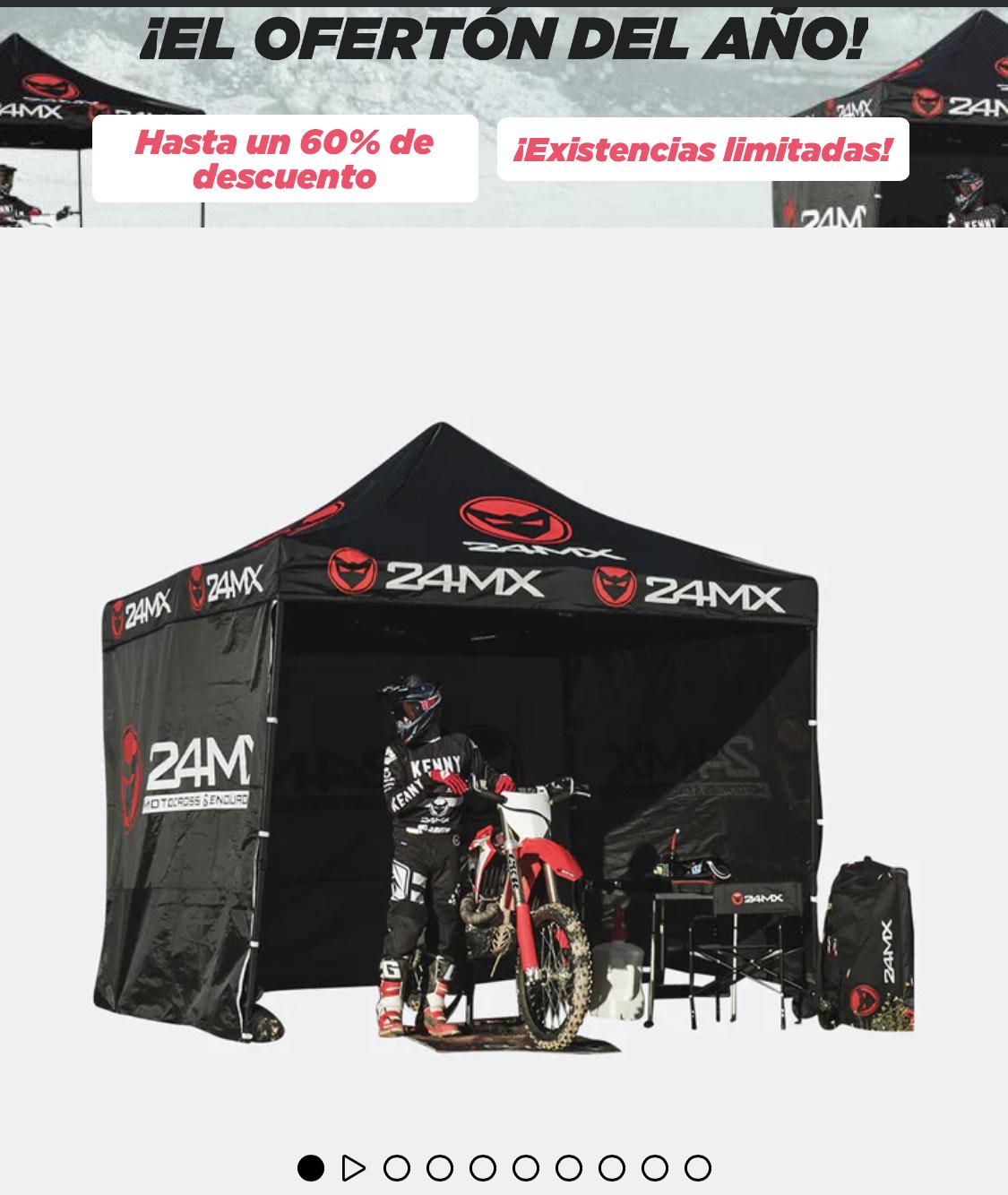 Carpa 24MX Race Easy-Up