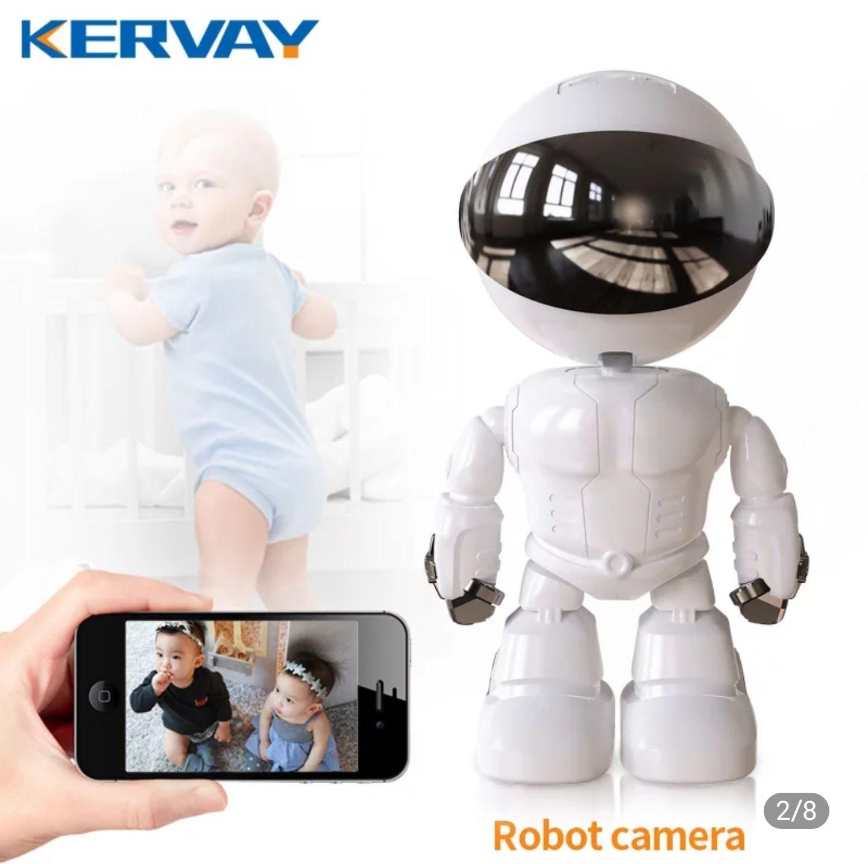 Cámara de seguridad Robot de 1080P 360 °WiFi