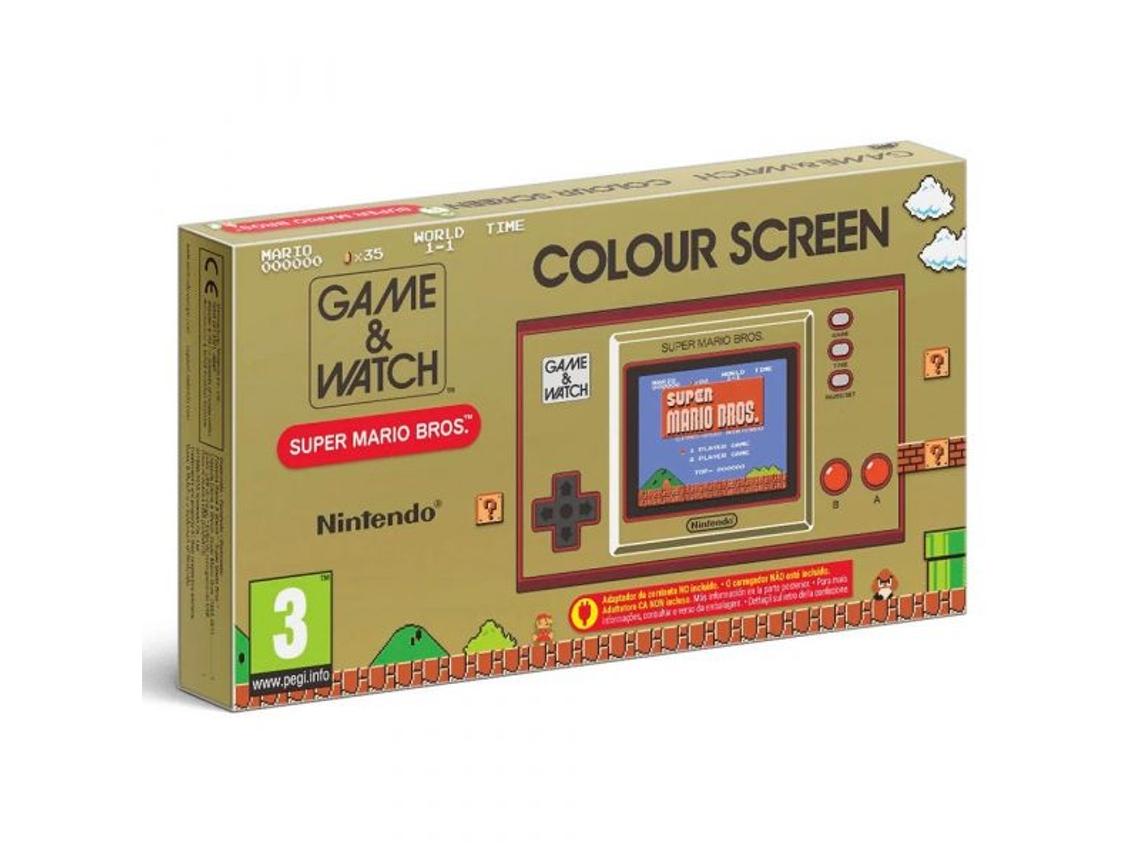 Consola Nintendo Game & Watch: Super Mario Bros - WORTEN/MediaMarkt