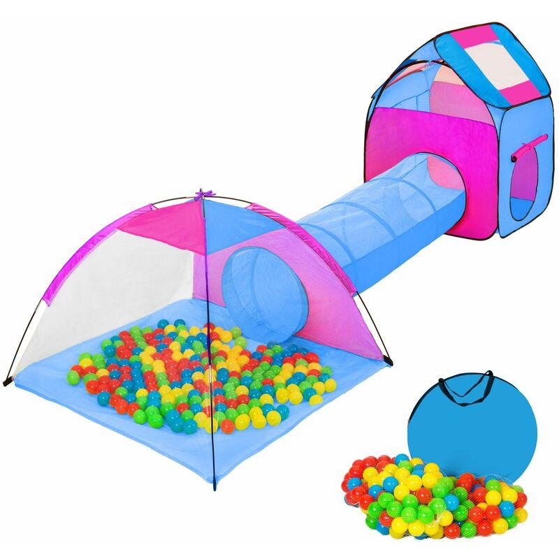 Parque infantil con tunel + 200 Bolas