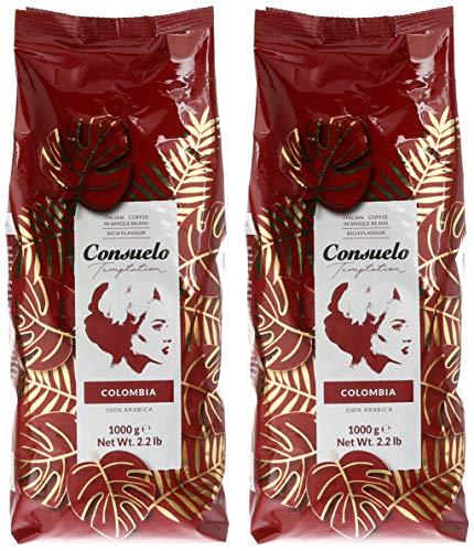 2kg de café de Colombia en grano con tueste natural.