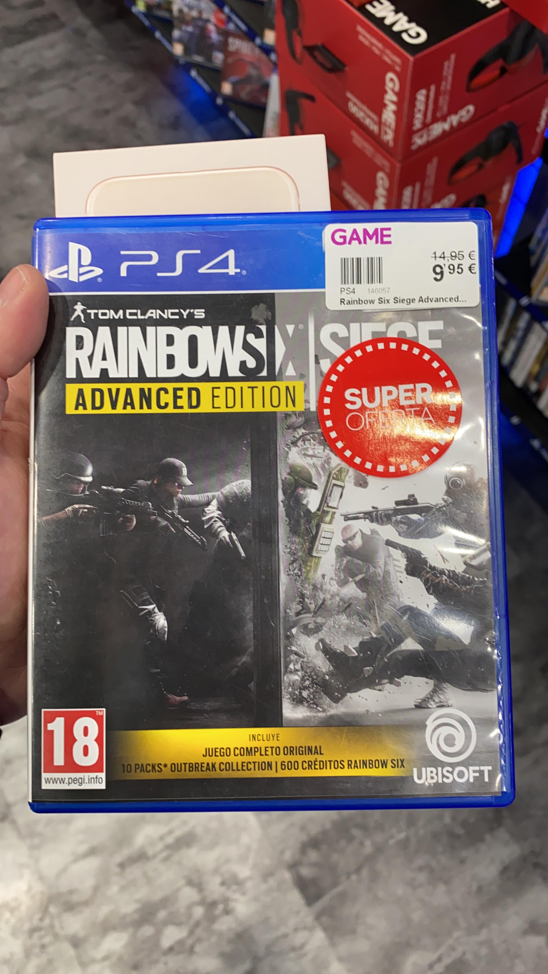 Rainbow Six ( Juego Completo) PS4