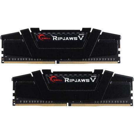 2 x 8GB RAM DDR4 3200 G.Skill Ripjaws Negras