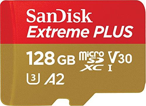 Tarjeta de memoria SanDisk Extreme Plus de 128 GB   170 MB/s, Class 10, U3 y V30 porj 24,79 €