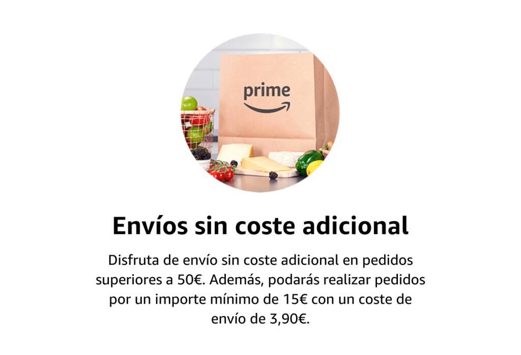 DIA con Amazon PRIME: envío gratuito a partir de 50€