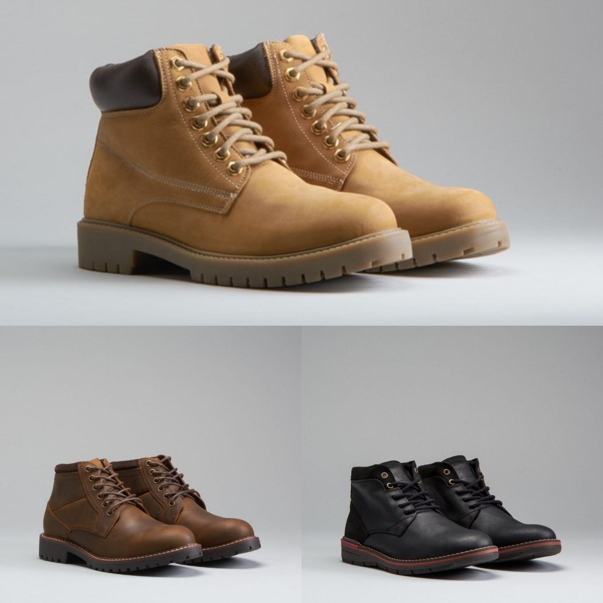 Botas de piel para Hombre por 19,99€ - Varios Modelos en Descripción