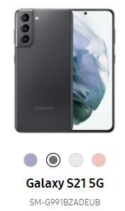 [UNIDAYS - SOLO UNIVERSITARIOS] Samsung Galaxy S21 5G