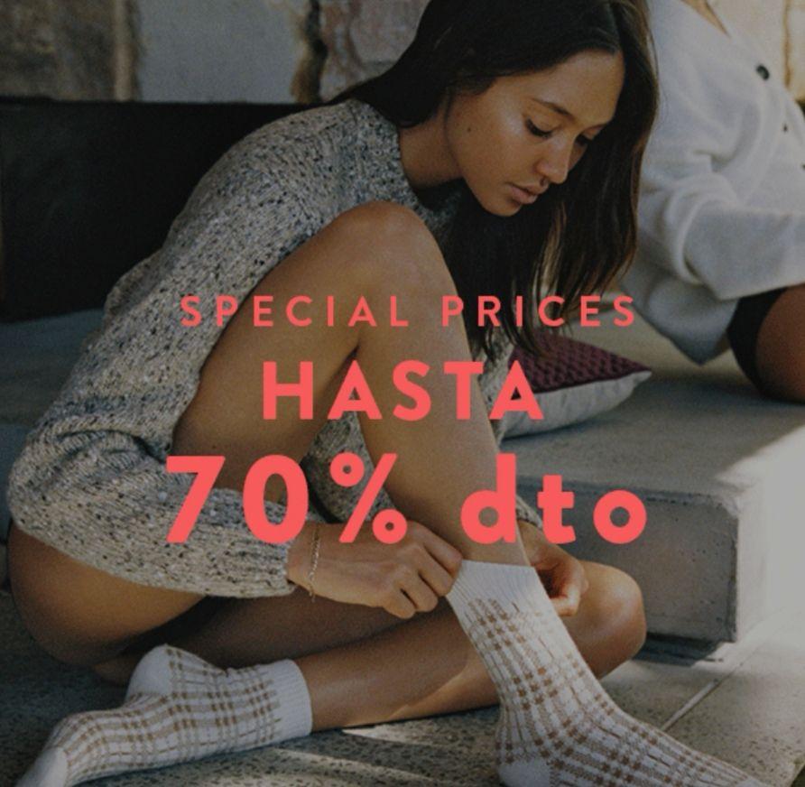 Special Prices te esperan con hasta 70% dto.