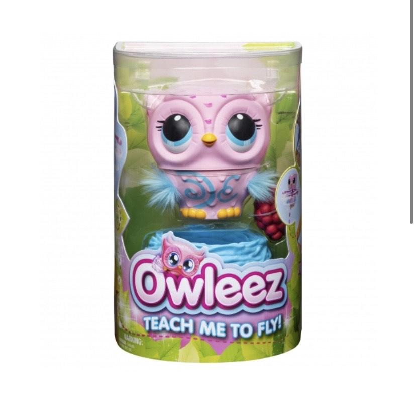 Owleez - Buho Rosa, Mascota Interactiva