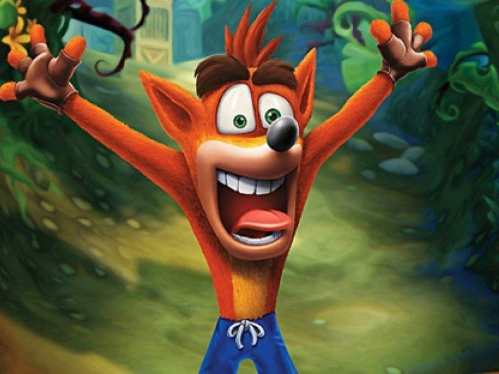Merchandising Crash Bandicoot en Game