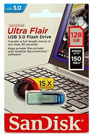 SanDisk Ultra Flair Memoria Flash USB 3.0 de 128 GB