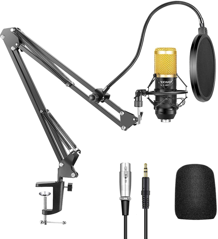 Neewer NW-800 Micrófono Condensador Profesional Estudio