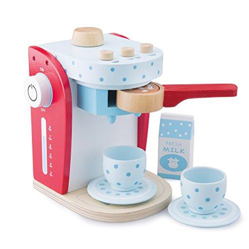 New Classic Toys - Cafetera de madera