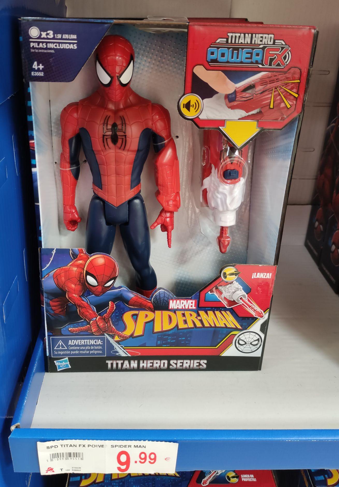 Spiderman Power FX - Hasbro en Alcampo Motril