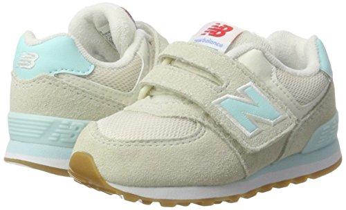 New Balance 574, Zapatillas con Velcro Unisex Niños