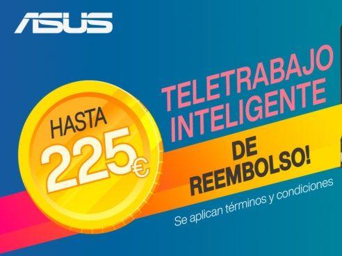 Reembolso ASUS hasta 225€