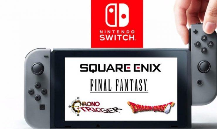 Selección de juegos de Square Enix en promoción [Nintendo Switch]