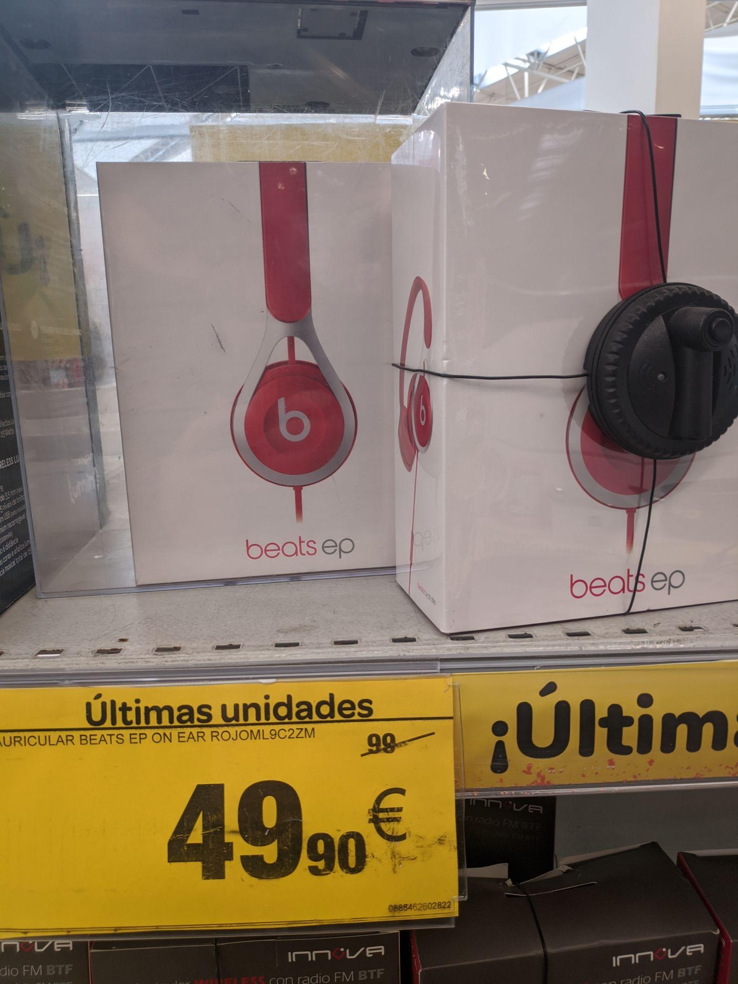 Auriculares Beats EP en Carrefour Huelva
