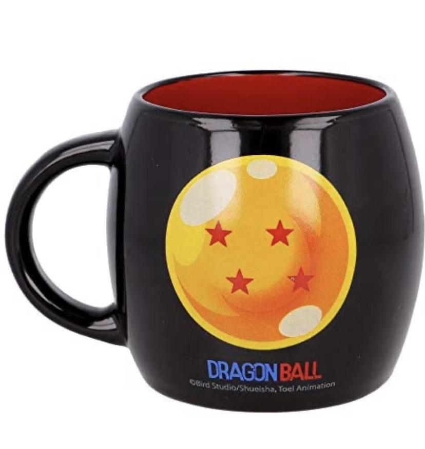 TAZA CERAMICA GLOBE 380 ML dragon ball , algunas bolas no están de adorno
