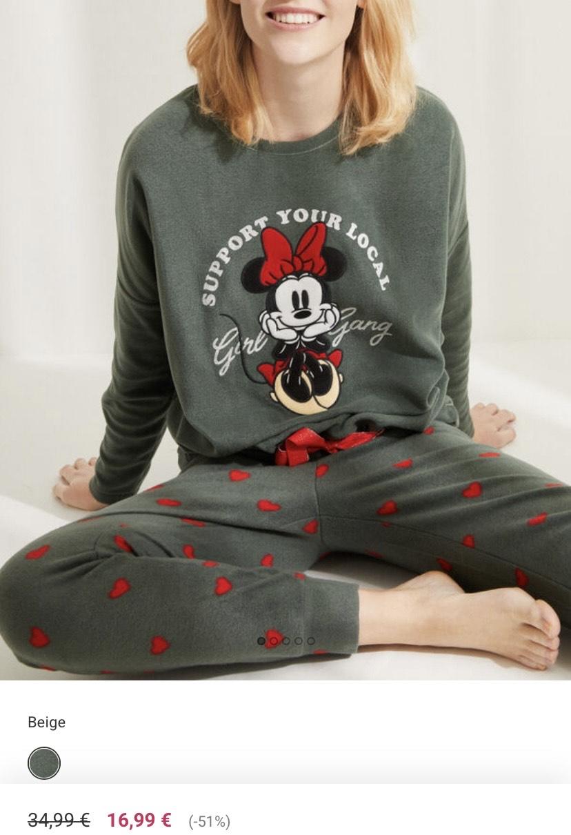 Pijama polar Minnie y más