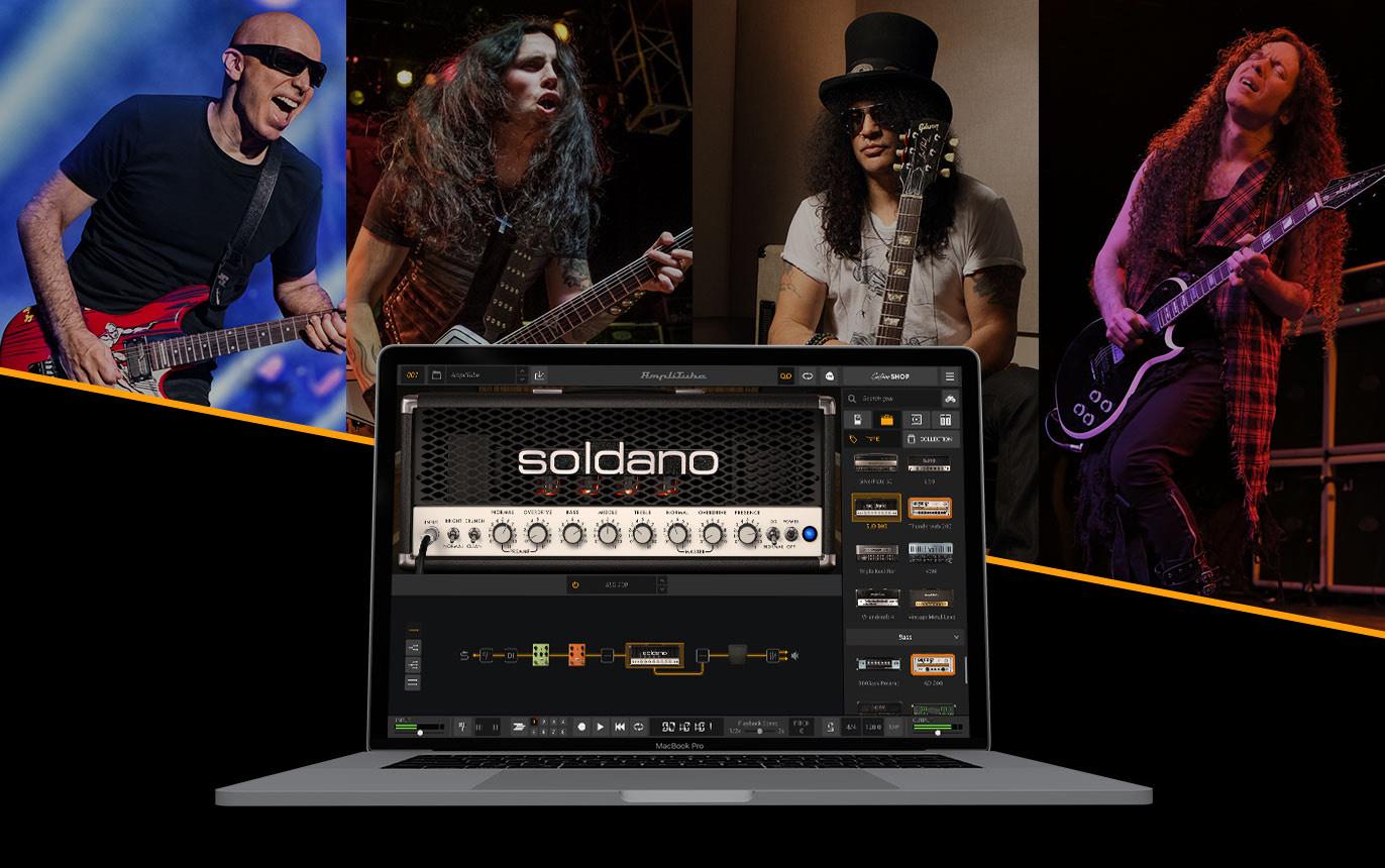 Gratis amplificador virtual Soldano SLO-100 amplitube