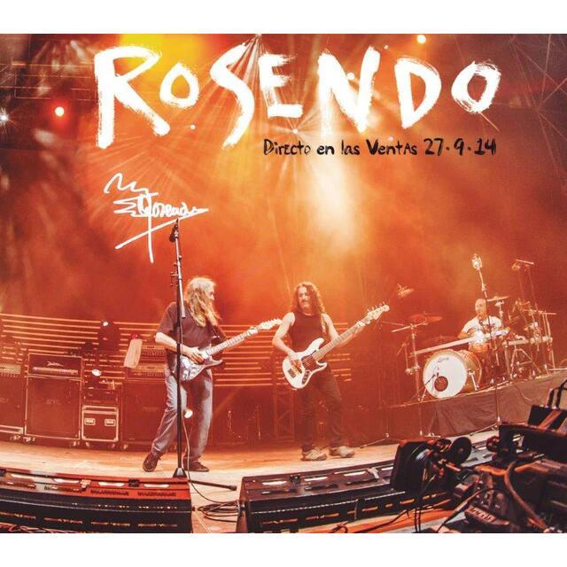 CD Rosendo directo en Las Ventas
