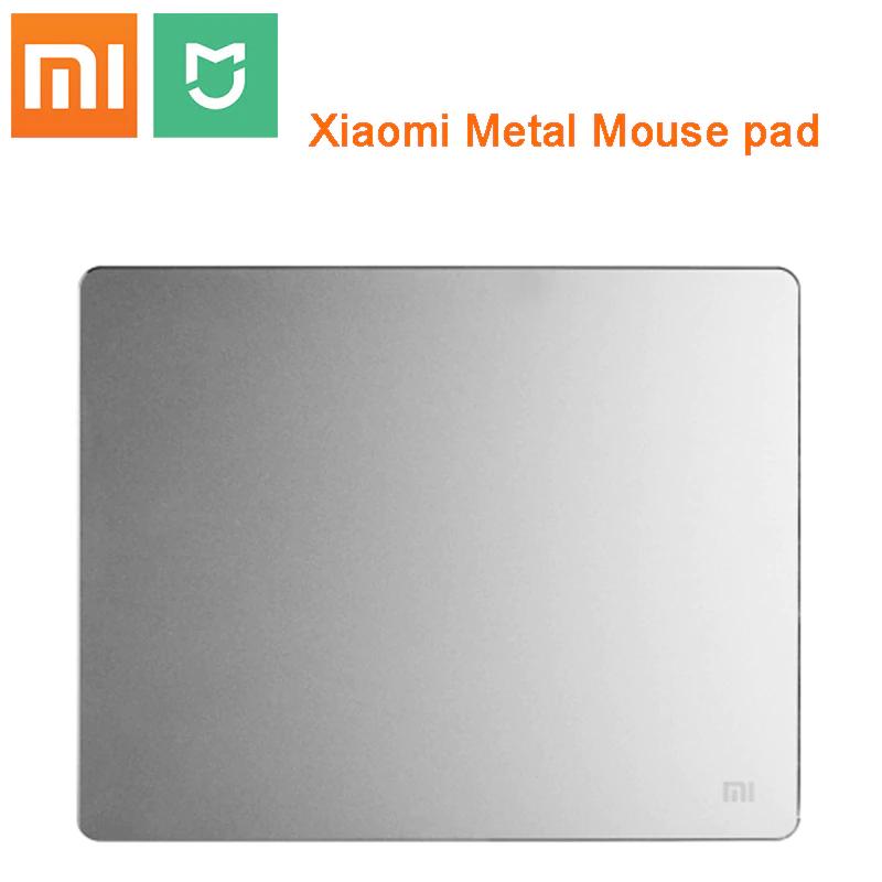 Xiaomi-alfombrilla de ratón de Metal Original, alta calidad, 240x180x3mm, almohadillas de aluminio esmerilado mate para ordenador